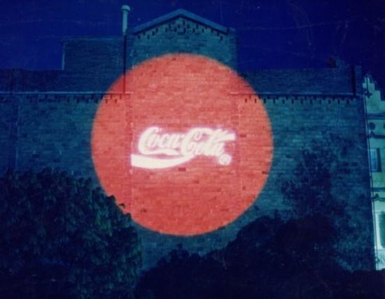Proyección Coca-Cola